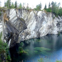 Холодные скалы Рускеалы