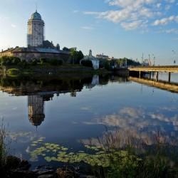 Красота Выборгского замка