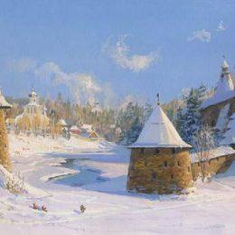 псков зима