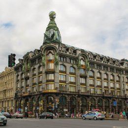Обзорная экскурсия Петербург 1