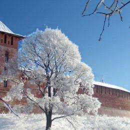 новгород зима